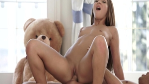 Alexis Brill & young teen Alexis Bril cum on face XXX video