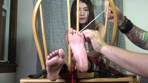 Asian feet fetish HD