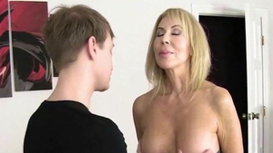 Young housewife Erica Lauren has a thing for hard slamming HD