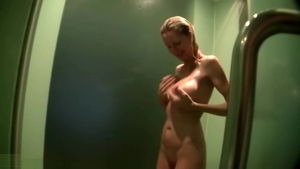 Emma Star along with Emma Starr toys in the shower HD