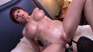 Sex in company with large boobs Jay Taylor