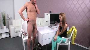 Erotic loud sex with Gina Devine plus Ben English