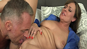 Cougar got her pussy smashed