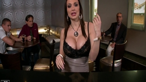 Aletta Ocean is a busty brunette