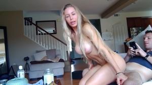 Loud sex with big ass american chick