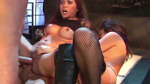 Rough fucking in company with incredible amateur