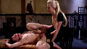 Femdom in the company of super hot mistress Cherry Torn