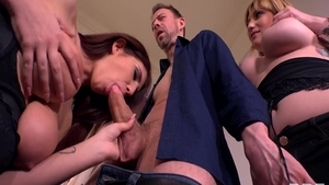 Erik Everhard in company with wild stepmom Aida Swinger