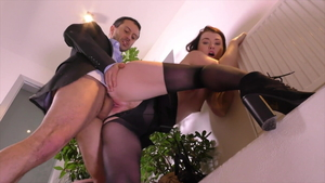 Misha Cross gets a buzz out of hard nailining