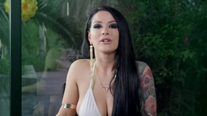 Kissa Sins bikini with Xander Corvus