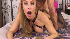 Gorgeous babe Britney Amber wants ramming hard in lingerie HD