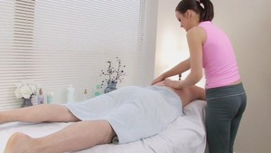 he Paid For His Massage By plowing Her