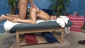Massage Session With nailing And Facial cumshot
