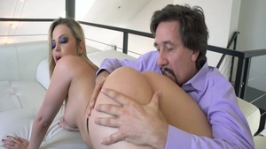 Rough hard ramming along with hot blonde hair Alexis Texas