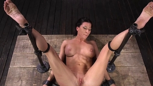 Amazing Ariel X playing with sex toys ass fucking