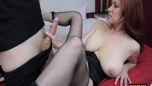 Sex alongside chubby mature Tiffany Mynx