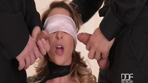 Fetish gangbang with Victoria Summers