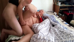 Young granny homemade creampied