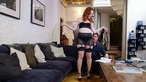 Couple Amarna Miller goes wild on cock sex tape HD