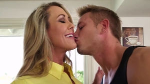 Huge boobs blonde hair rough deepthroat pussy fucking in HD