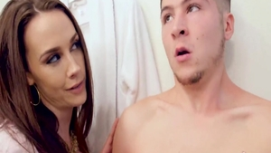 Housewife Chanel Preston reality pussy eating