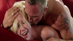 Skinny Samantha Rone and Markus Dupree gets plowed