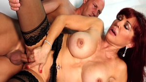 Nailed rough with beautiful MILF Sexy Vanessa