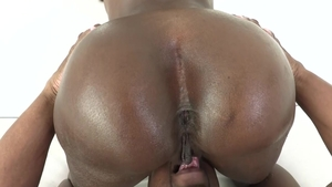Big butt ebony pounded by Prince Yahshua