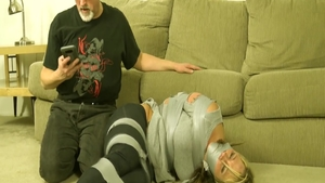 Busty amateur homemade torture in HD
