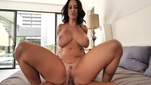 Hard sex with hot brunette Ava Addams