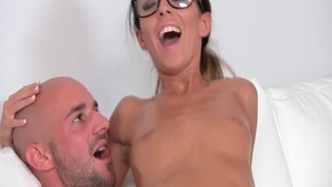 Gina Devine in oil reality fingering