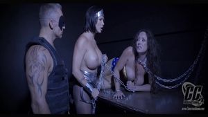 Big tits Summer Day BDSM roleplay