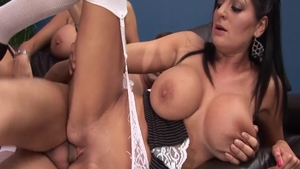 Pussy fucking with Kerry Louise & Antonia Deona