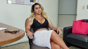 Big ass mature lusts surprise anal pov sex in office HD