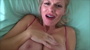 Big tits blonde Casca Akashova blowjobs HD