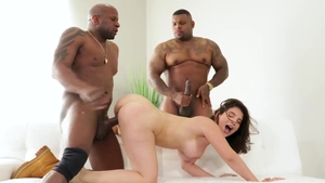 Ramming hard with big tits ebony La Sirena