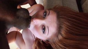 Pussy fucking scene between huge tits rough Rose Red