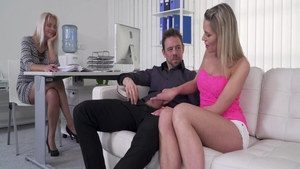 Kathy Anderson and Erik Everhard raw blowjobs