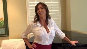 POV doggy among large tits stepmother Alexis Fawx