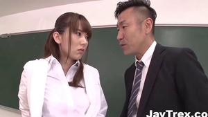 Perky nice japanese nurse Yui Hatano ass pounded in HD