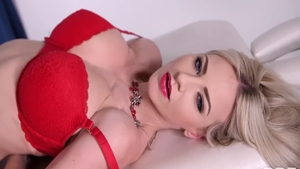 Wet Nathaly Cherie blonde hair playing with sex toys sex scene