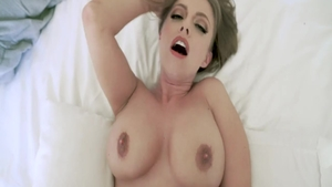 Large boobs Britney Amber sucking dick reverse cowgirl