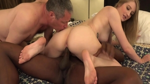 Blonde enjoys greatly slamming hard