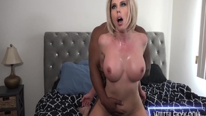 Super sexy Amber Chase sucking cock