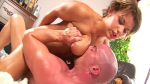 Large tits very sexy stepmom rough rimjob