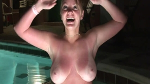 Nailed rough at the party starring busty girl