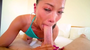 Large boobs Lily Ocean likes rough nailing