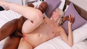 Hot stepmom Lexi Lou and large tits Black Guy raw dick sucking