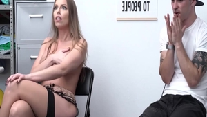 Britney Amber in stockings ass fucking