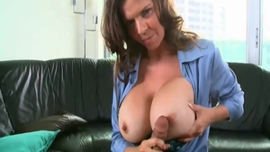Big boobs June Summers really enjoys sex